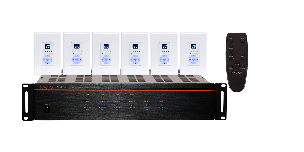 V-66 Professional Distributed Audio System