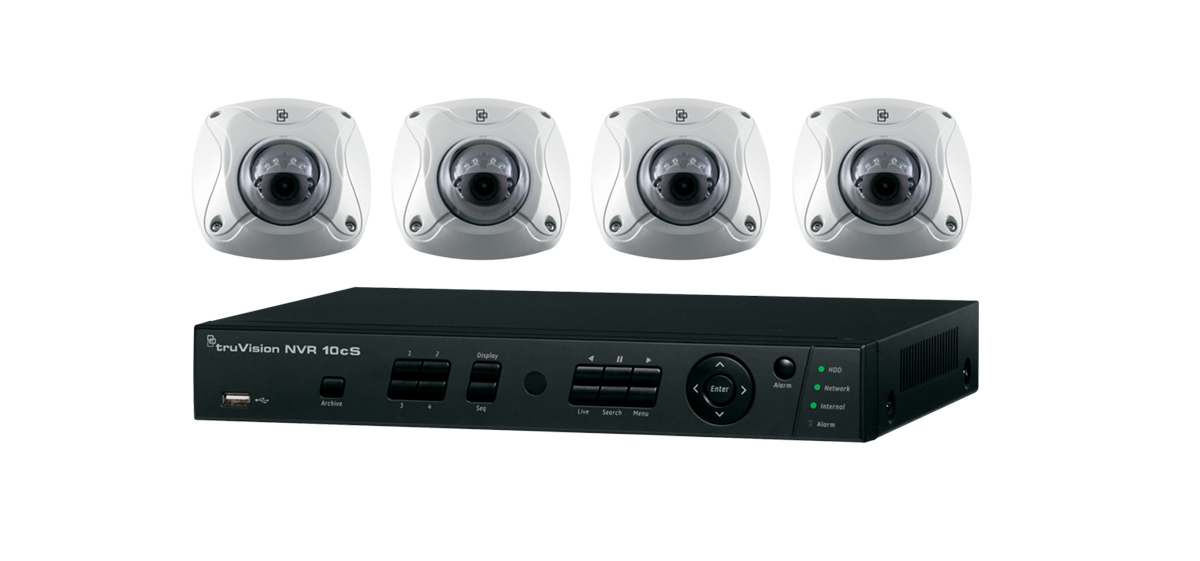 TruVision 4 or 8-Channel Kit