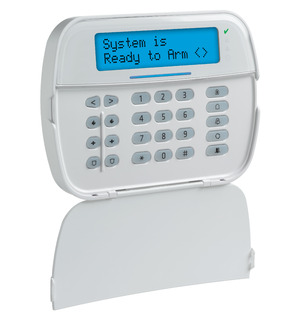 Full Message LCD Hardwired Keypad With Built-in PowerG Transceiver