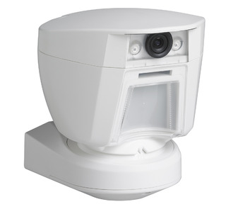 Outdoor PIR Motion Detector with Integrated Camera